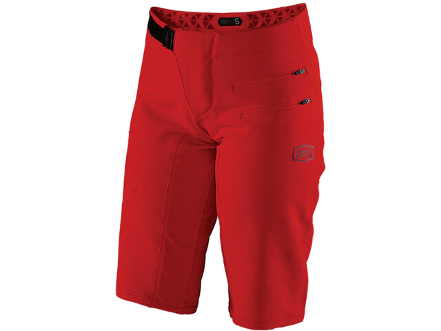 100% Airmatic Shorts Dame red